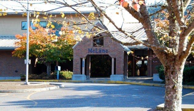 Historic Photo of McLane Elementary School.